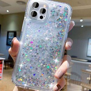 Apple IPhone 12 Pro Max Liquid Glitter Case